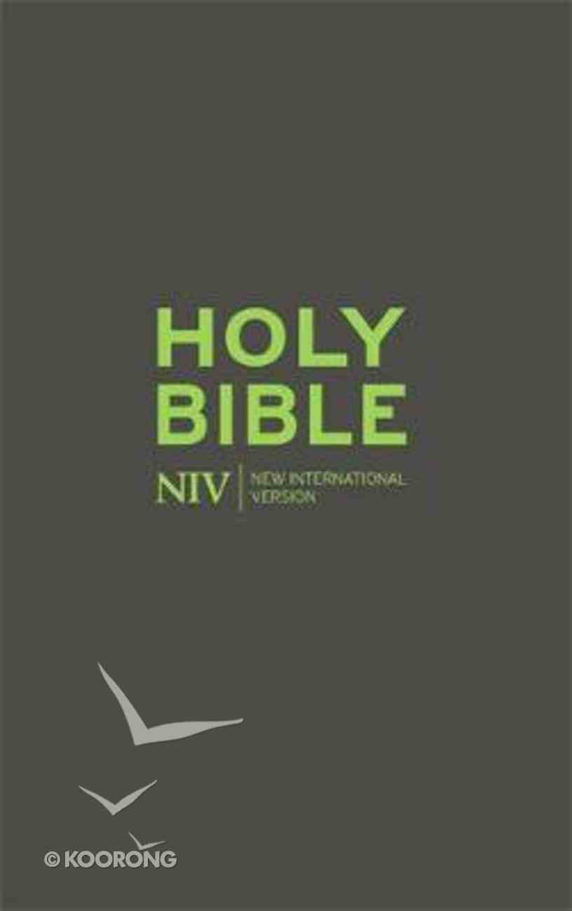 NIV Bible With Zip Flexi Back