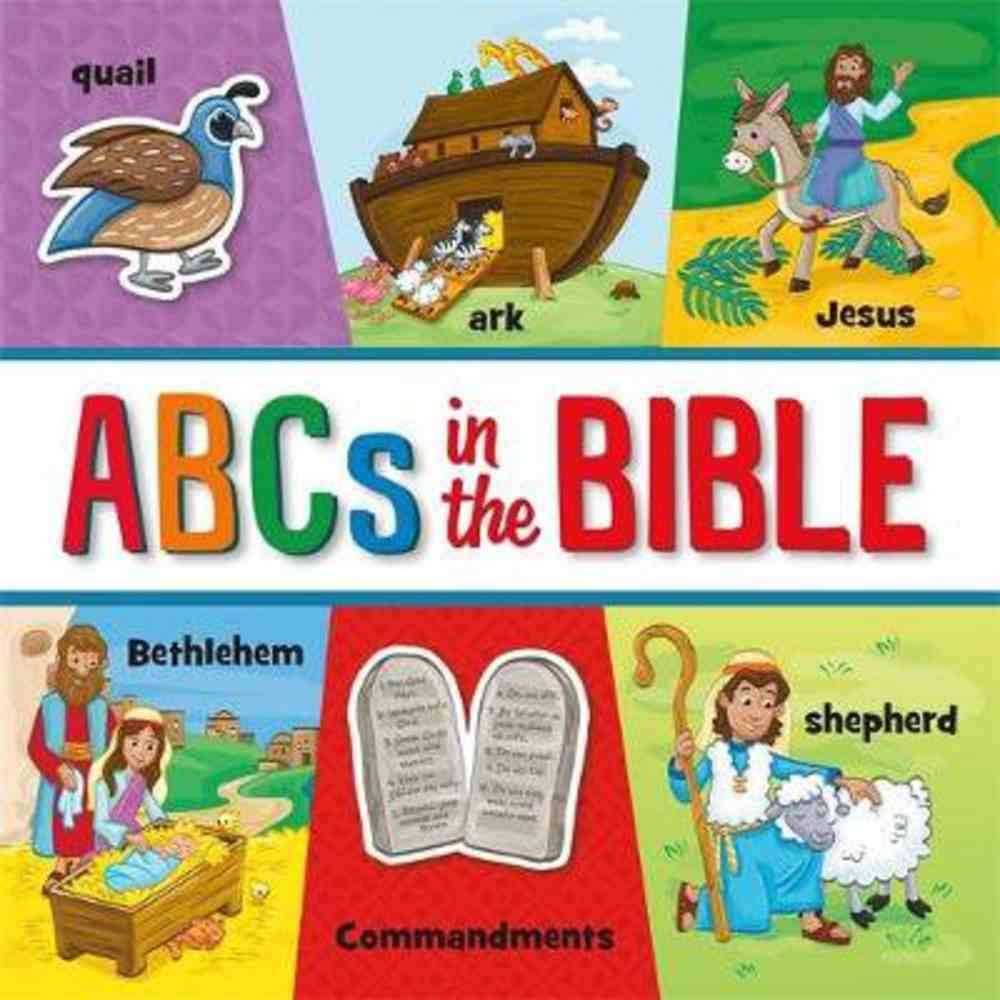 ABCS in the Bible Board Book