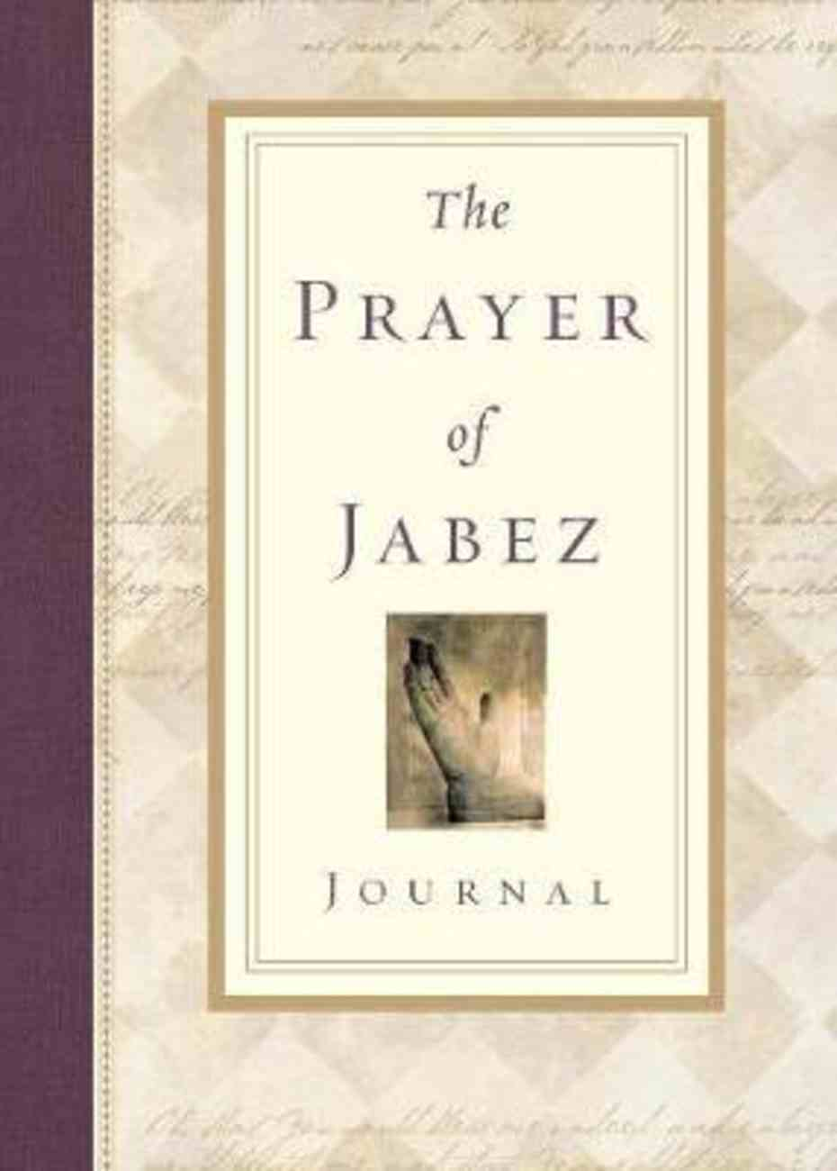 The Prayer of Jabez (Journal) Paperback
