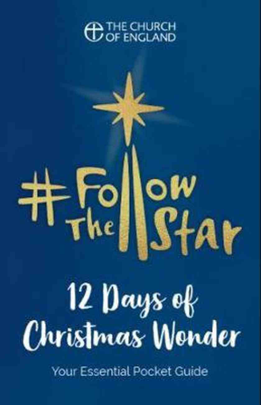 Follow the Star: 12 Days of Christmas Wonder (Pack Of 10) Booklet