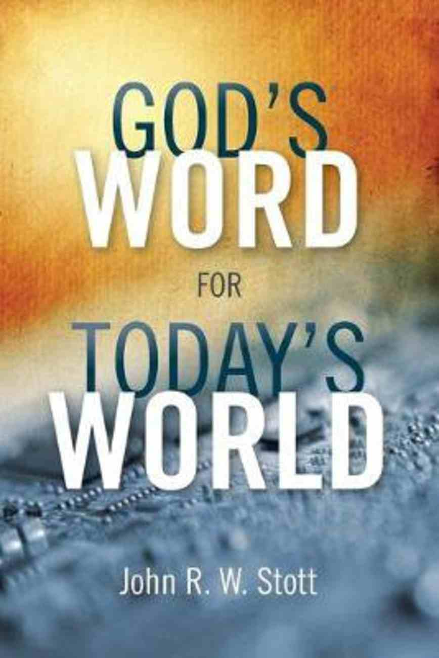 God's Word For Today's World Paperback
