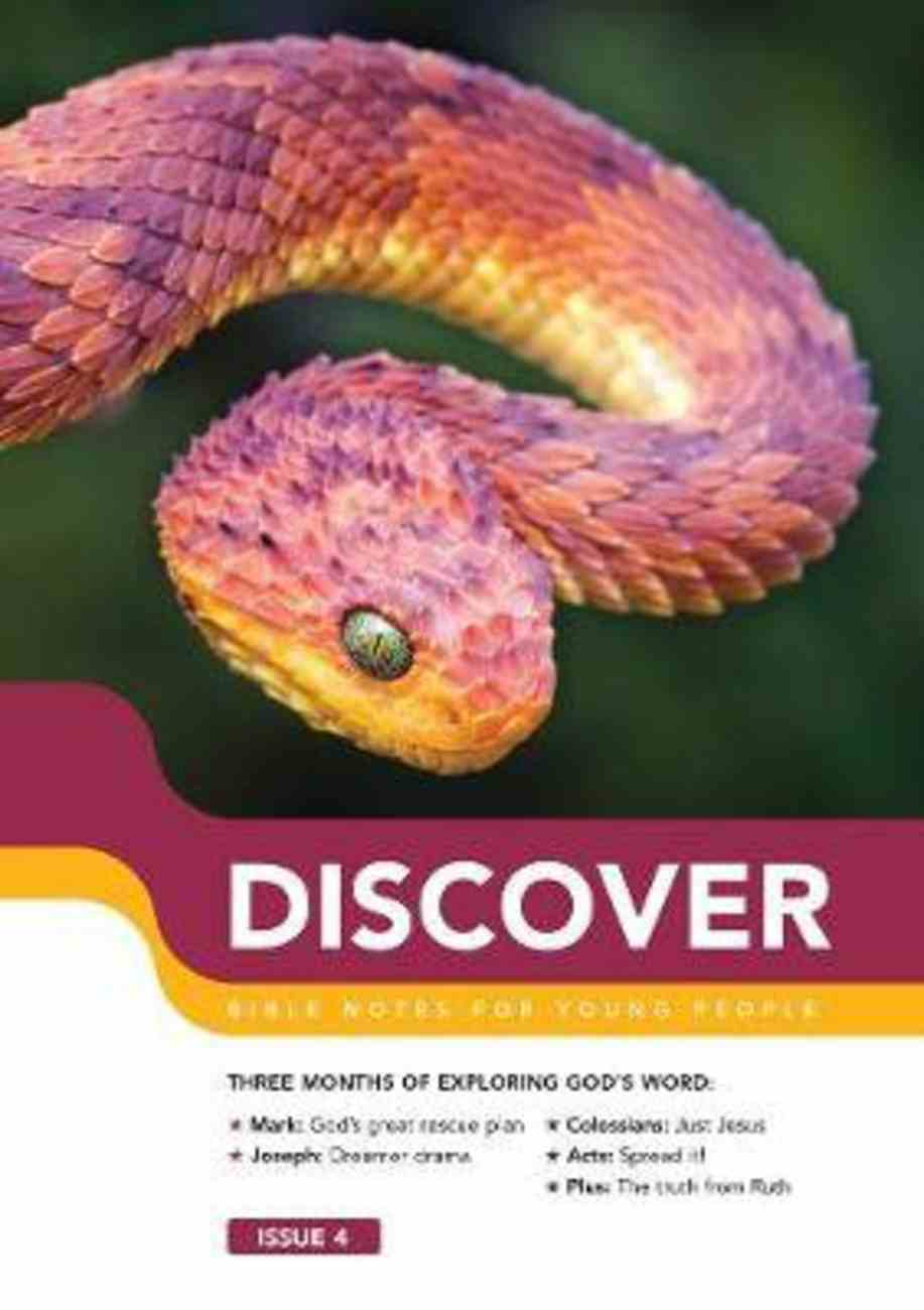 Mark, Colossians, Joseph, Acts + the Truth From Ruth (#04 in Discover Bible Notes For Young People Series) Paperback