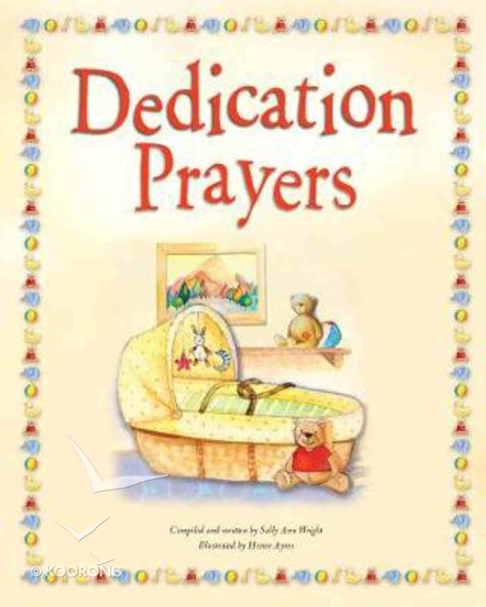 Dedication Prayers Hardback