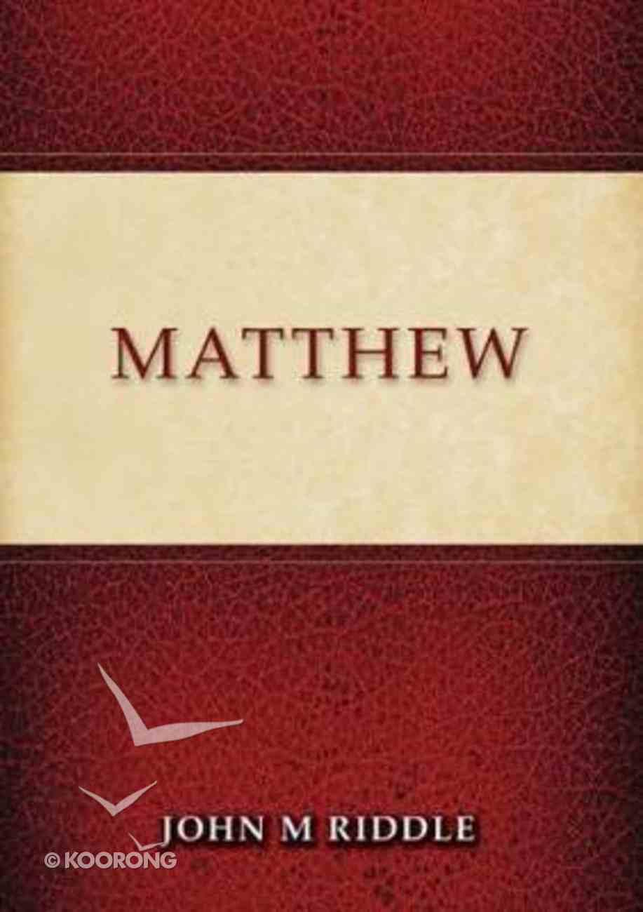 Matthew PB (Smaller)