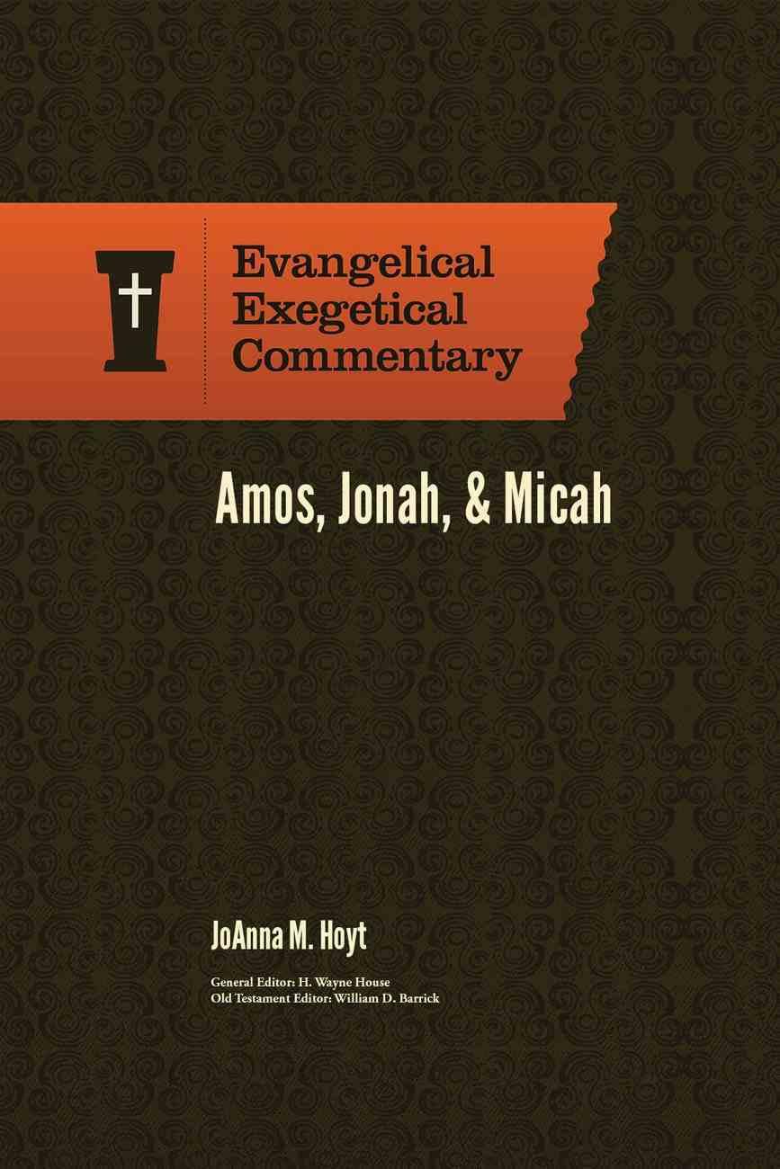 Exc: Amos, Jonah and Micah Hardback
