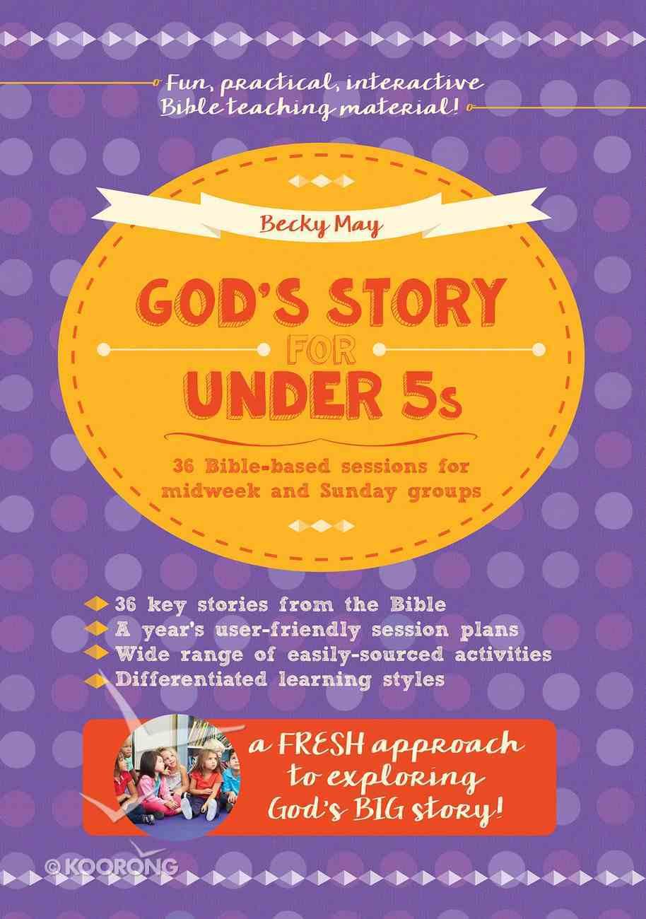 God's Story For Under 5s Paperback
