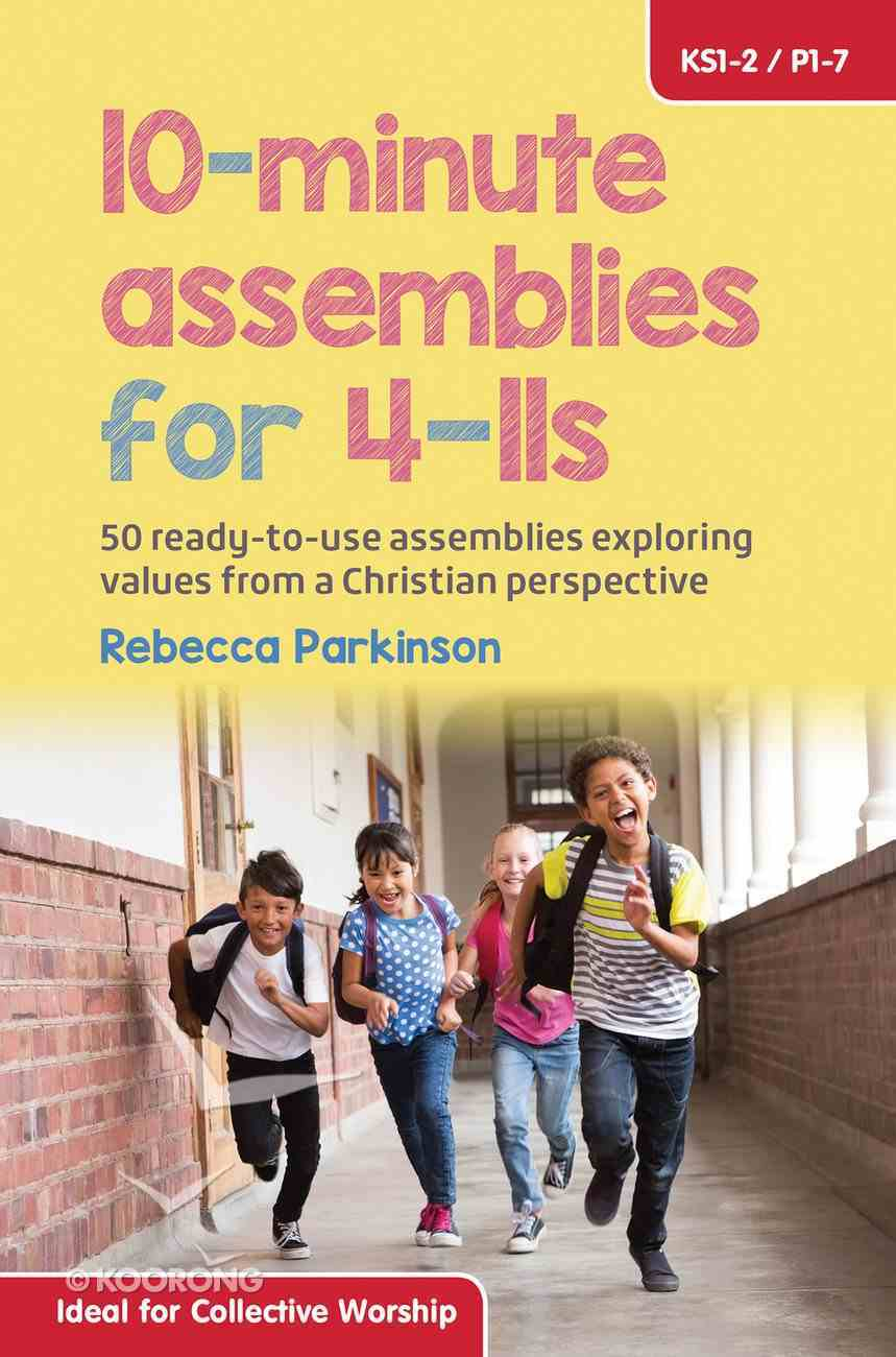 10-Minute Assemblies For 4-11S Paperback
