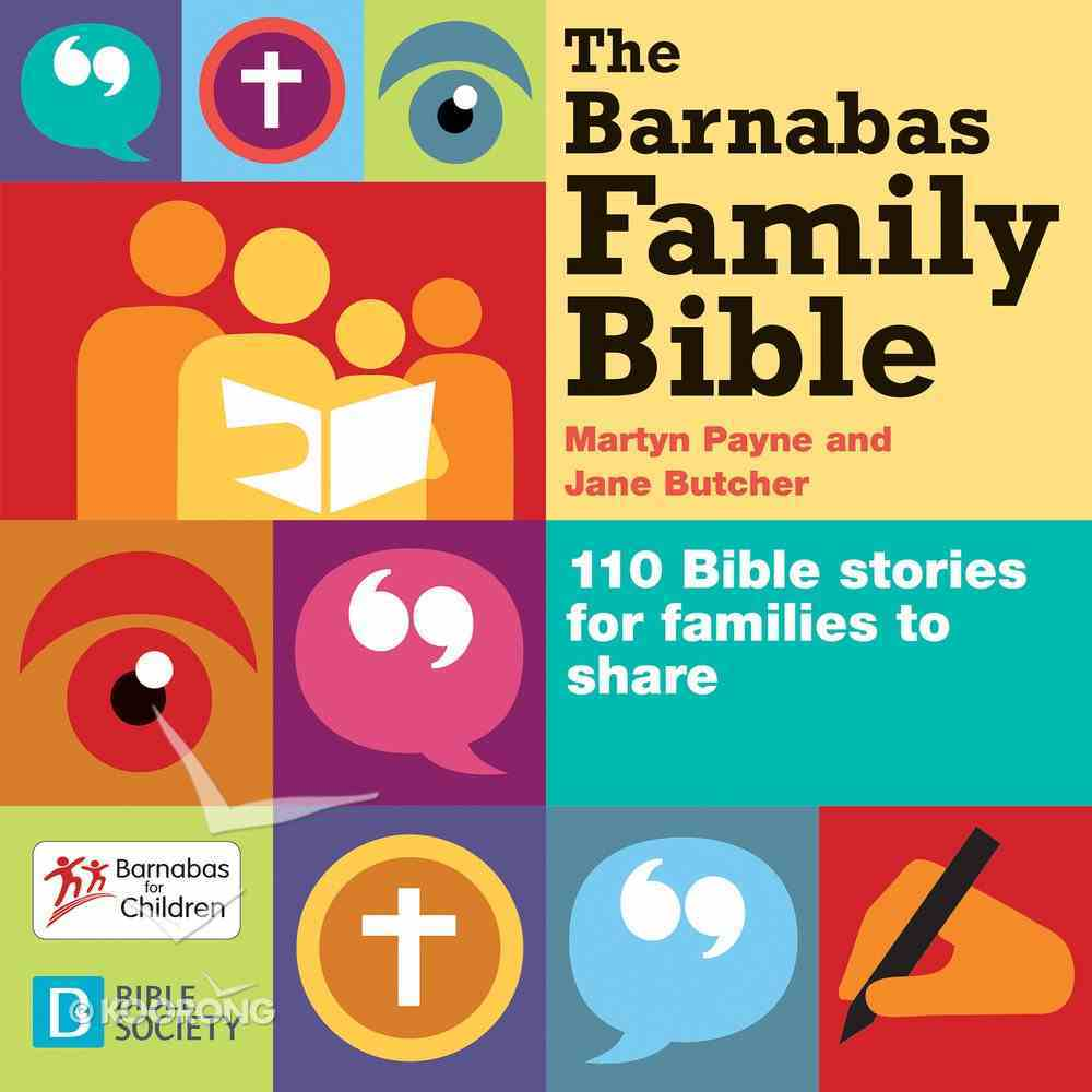 The Barnabas Family Bible Paperback