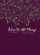 2020 16 Month Weekly Planner: I Can Do All Things (Faux Ziparound) image