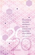 2020 16 Month Weekly Planner: Commit To The Lord image