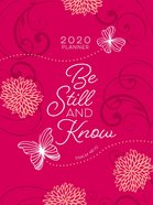 2020 16 Month Weekly Planner: Be Still And Know (Faux Ziparound) image