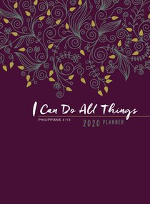 Product: 2020 16 Month Weekly Planner: I Can Do All Things (Faux Ziparound) Image