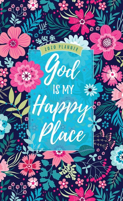 Product: 2020 16 Month Weekly Planner: God Is My Happy Place Image