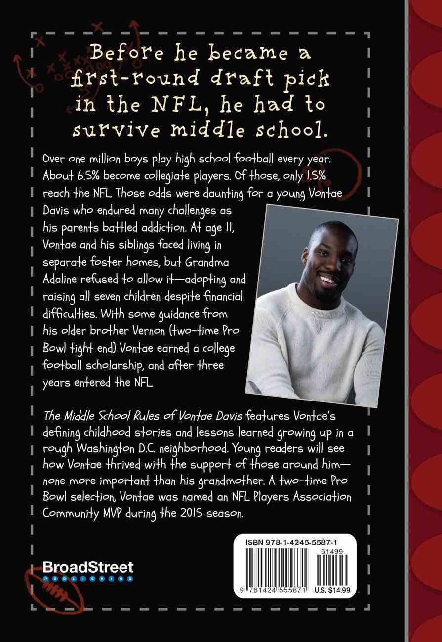 The Middle School Rules of Vontae Davis Hardback