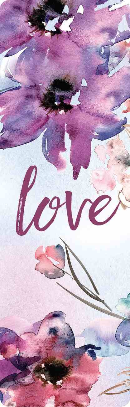 Bookmark Linen: Love Stationery