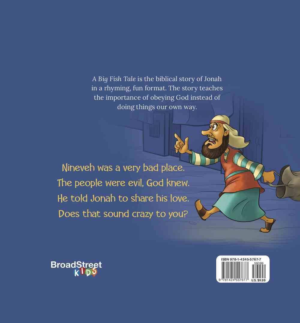A Big Fish Tale: The Story of Jonah Hardback