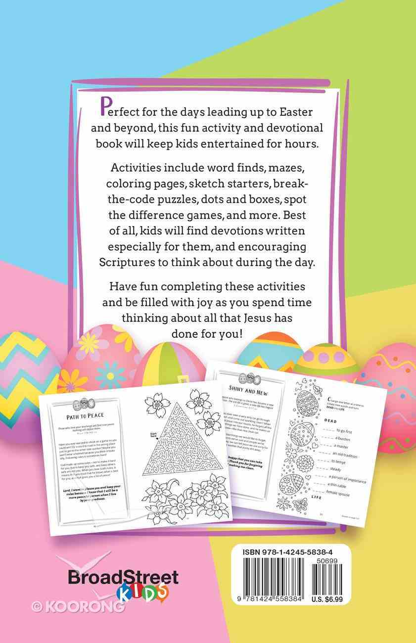 Celebrate Easter! 52 Fun Activities & Devotions For Kids Paperback