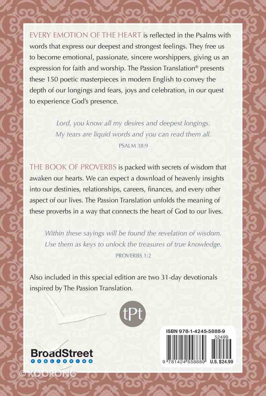 TPT Psalms and Proverbs: 2-In-1 Collection With 31-Day Psalms & Proverbs Devotionals (2nd Edition) Paperback