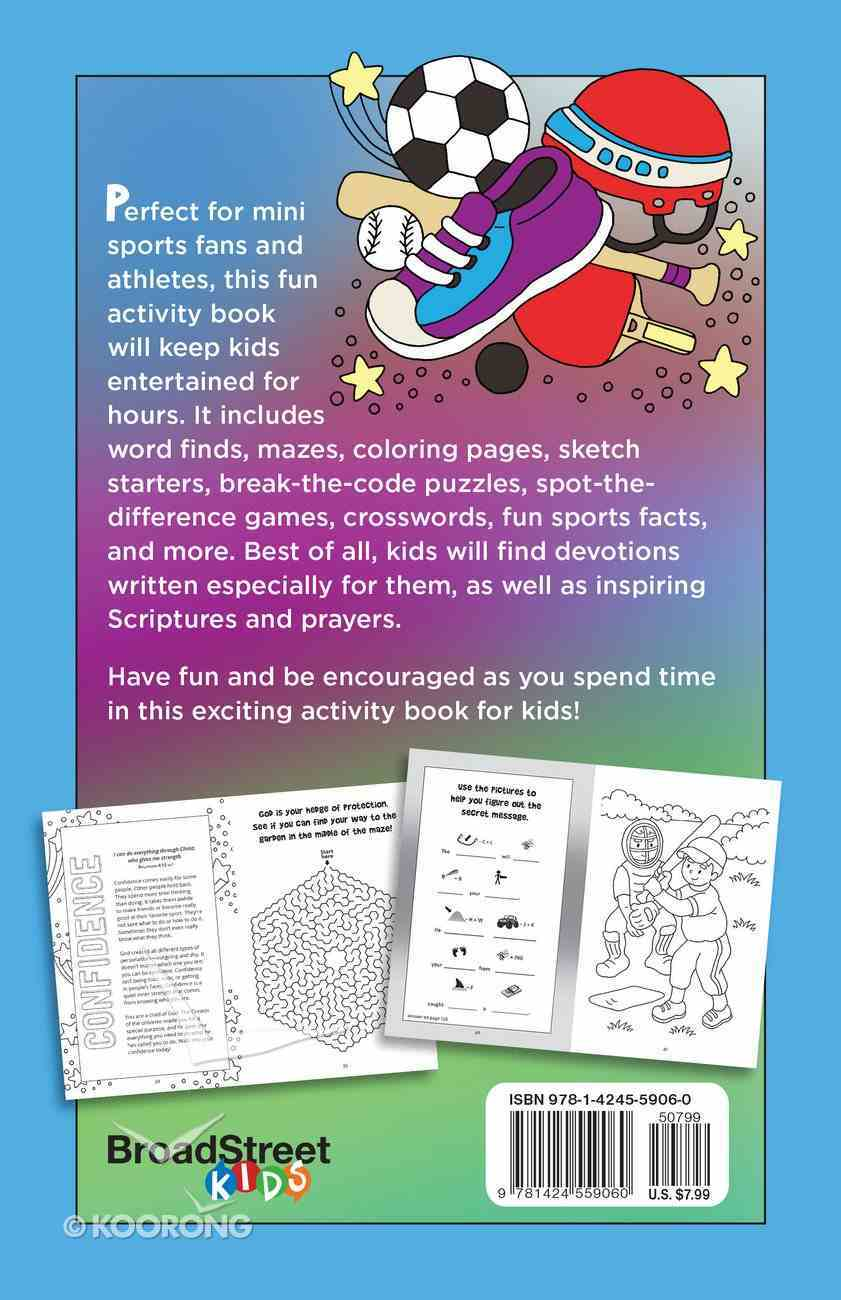 Best Sports Activity Book Ever Paperback