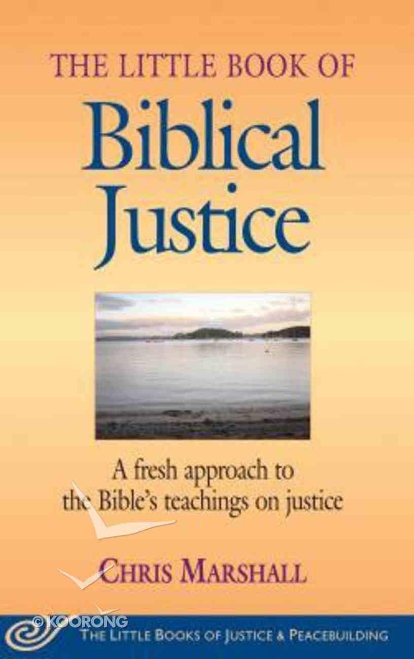 Little Book of Biblical Justice eBook