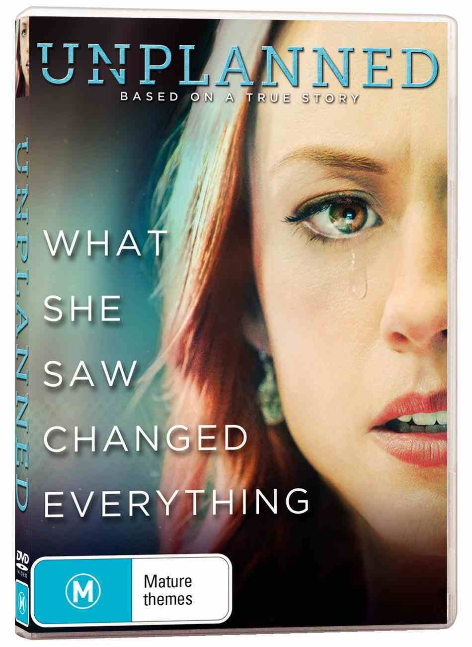 Unplanned Movie DVD