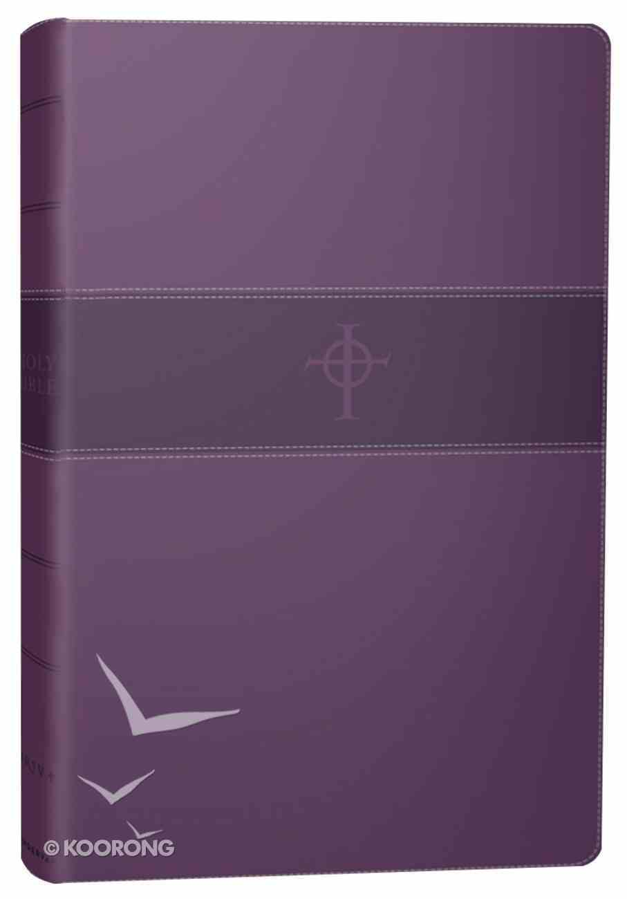 NRSV Thinline Bible Purple Premium Imitation Leather