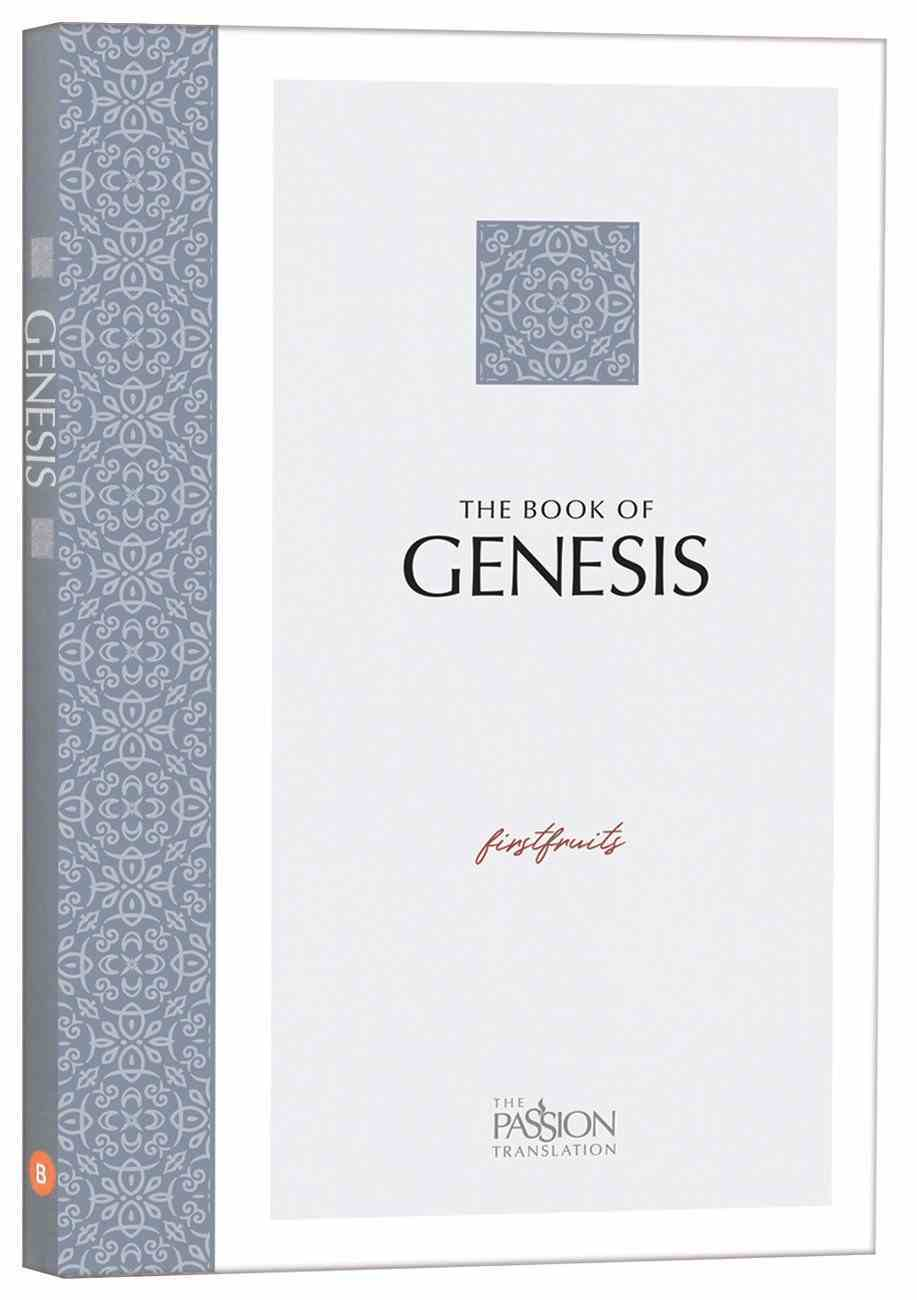 TPT the Book of Genesis: Firstfruits (Black Letter) Paperback