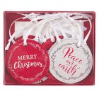 Gift Tags: 4 Christmas Designs Set of 16 Boxed Stationery