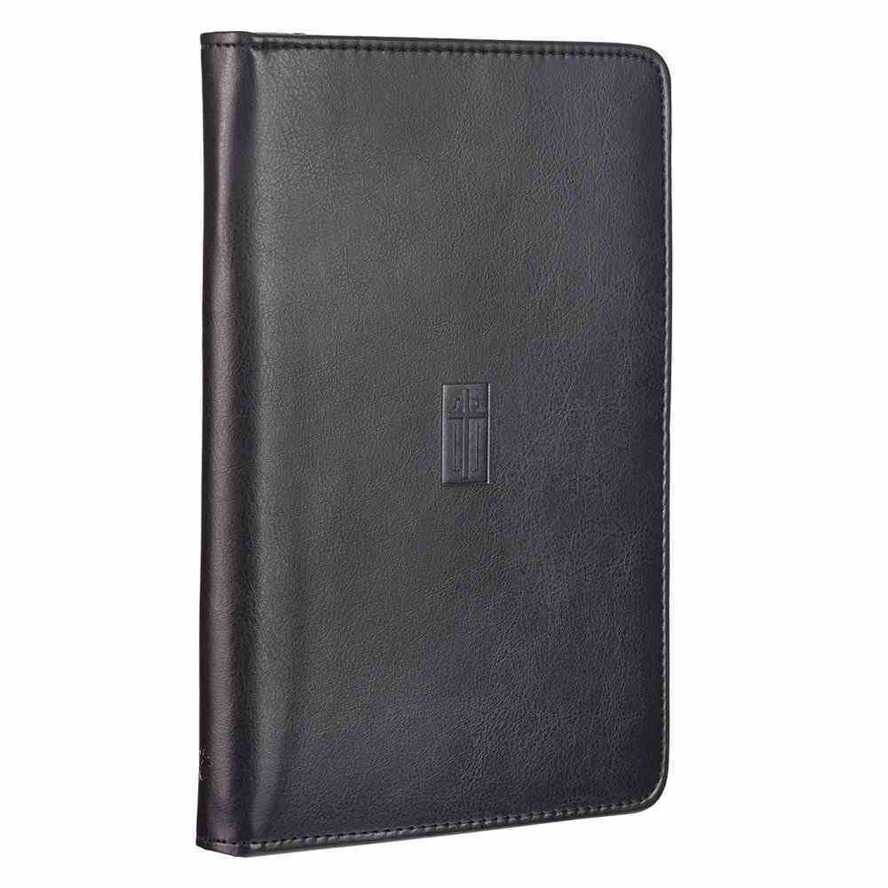 Bible Study Kits: Cross, Dark Brown Luxleather Folder Pack