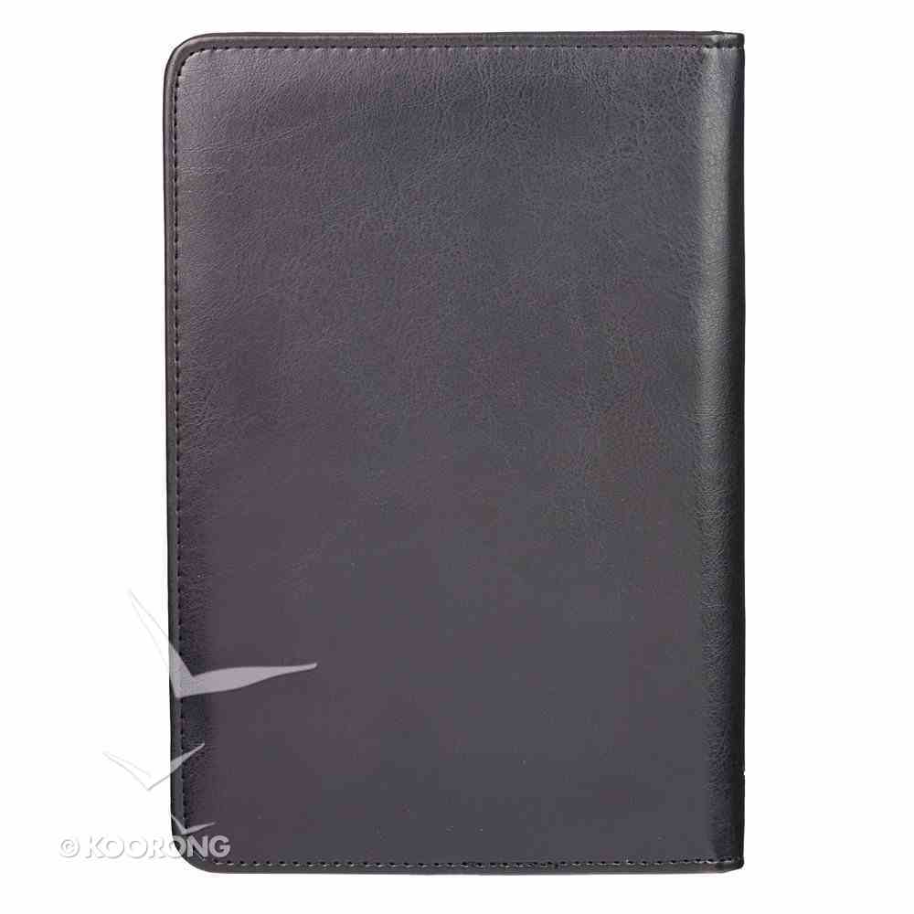 Bible Study Kits: Cross, Dark Brown Luxleather Folder Pack