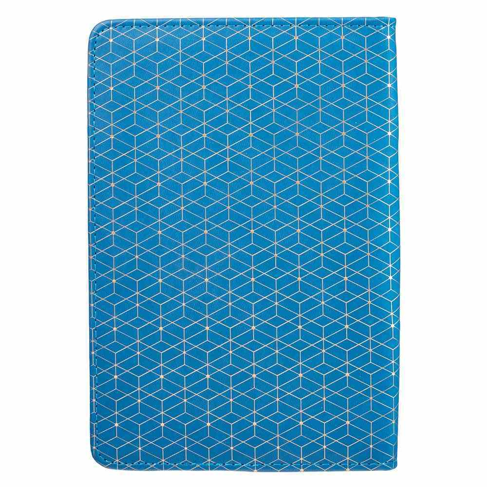 Bible Study Kits: Hope & a Future, Blue/White Patter Luxleather Folder Pack