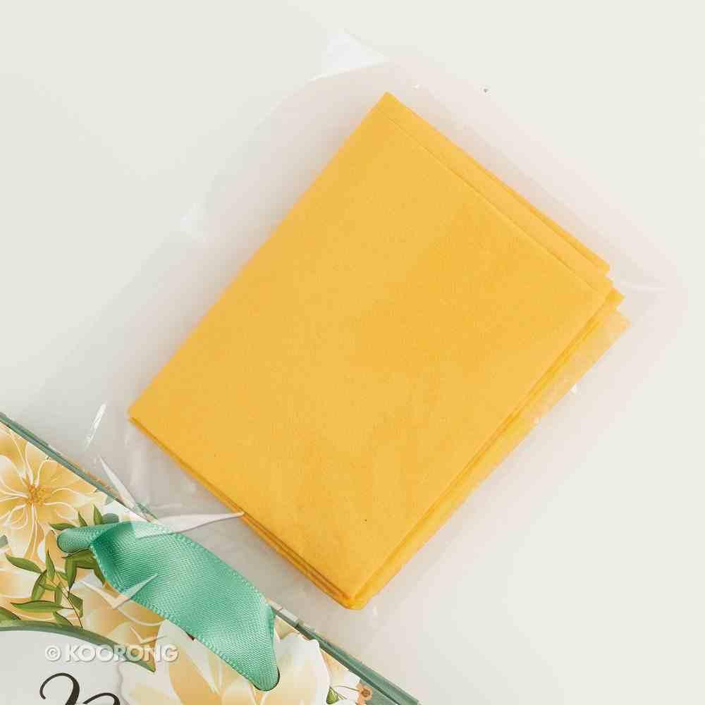 Gift Bag Small: Be Joyful Always, Yellow Flowers (1 Thess 5:16) Stationery