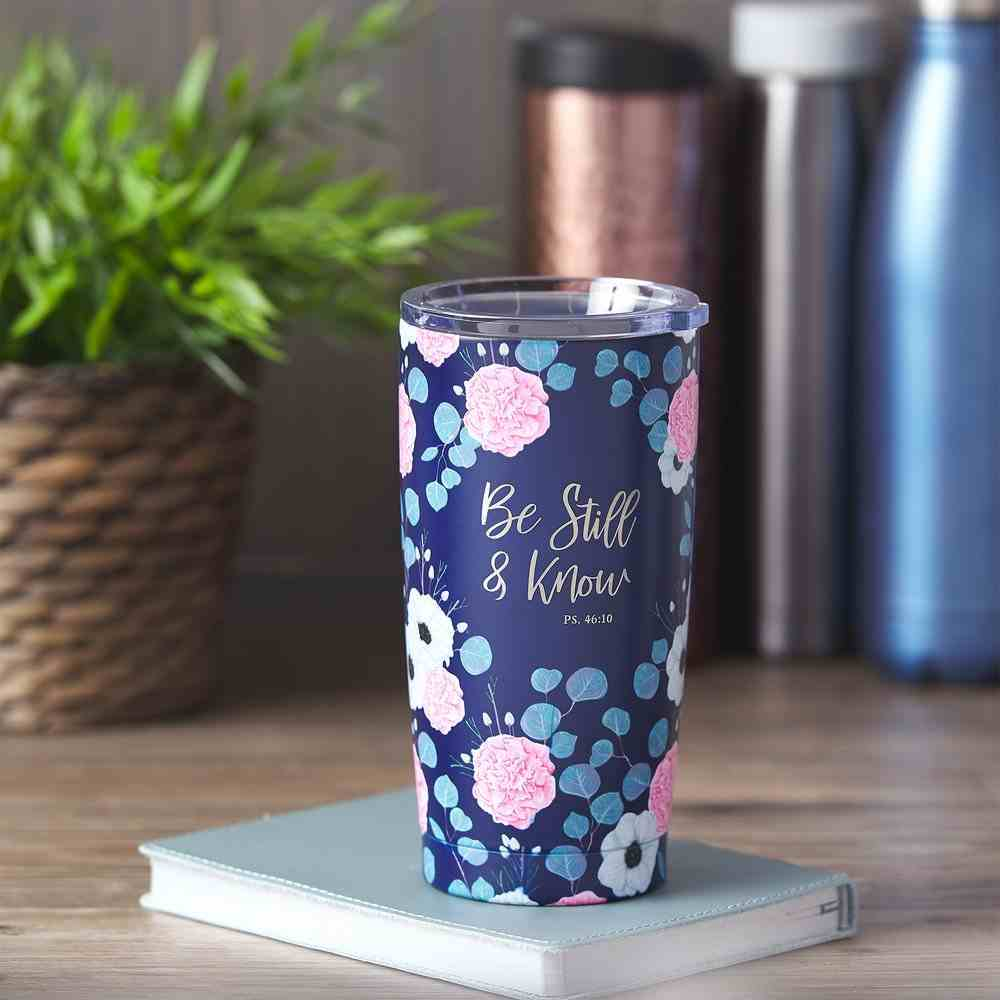 Stainless Steel Mug: Be Still & Know (Psalm 46:10) Homeware