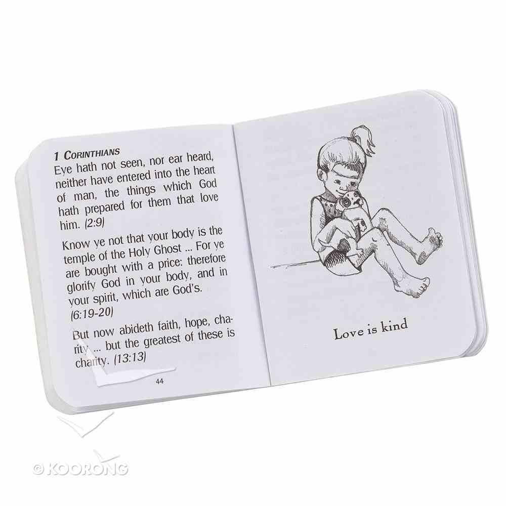 Novelty: My Little Bible Maroon Imitation Leather