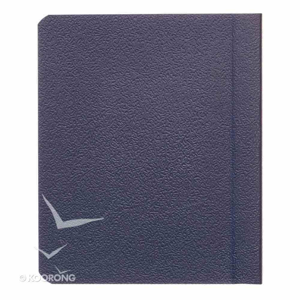 Novelty: My Little Bible Navy Blue Imitation Leather