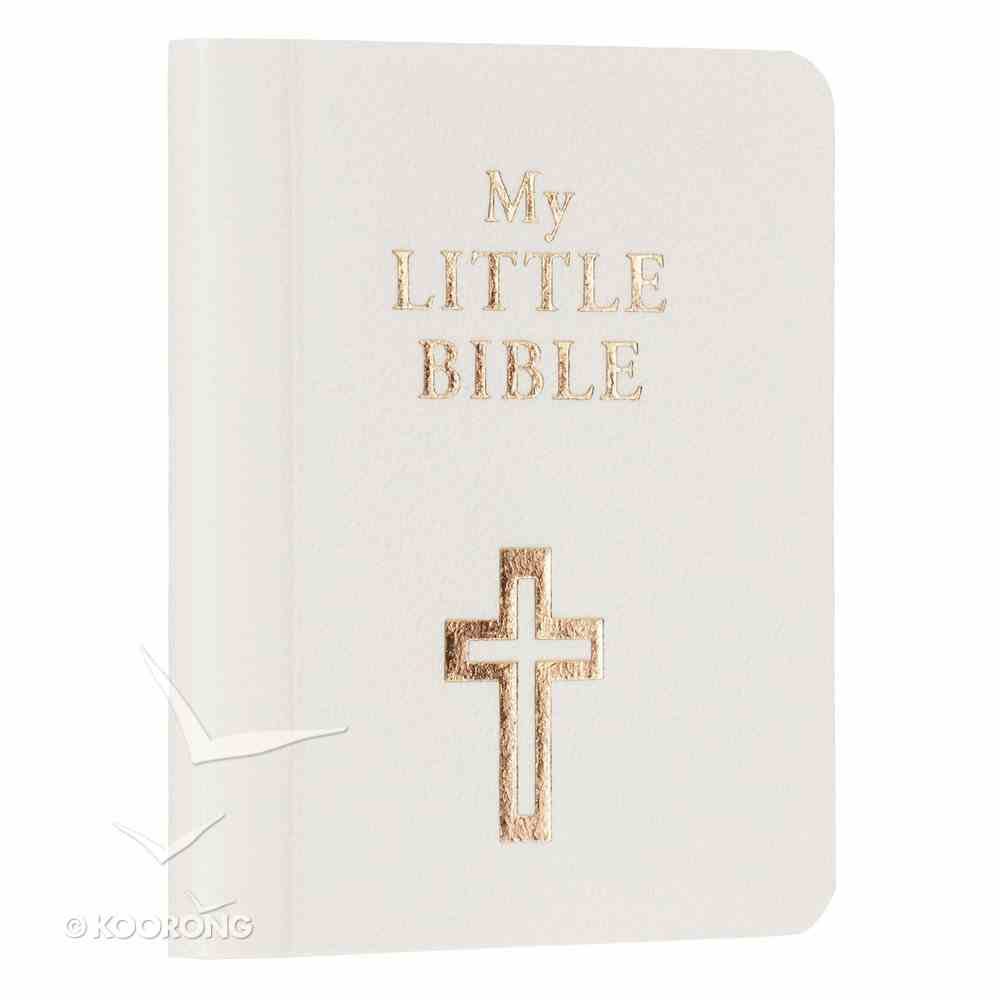 Novelty: My Little Bible (White) Imitation Leather