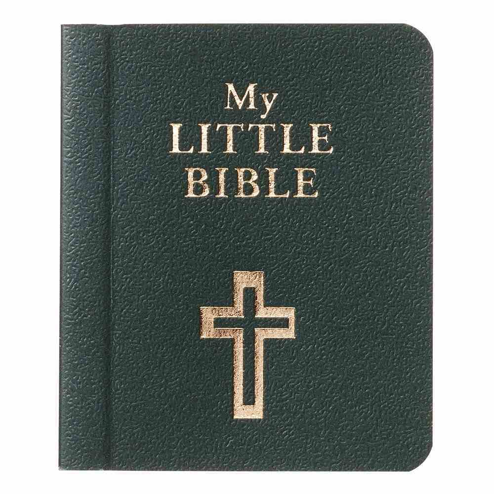 Novelty: My Little Bible (Green) Imitation Leather