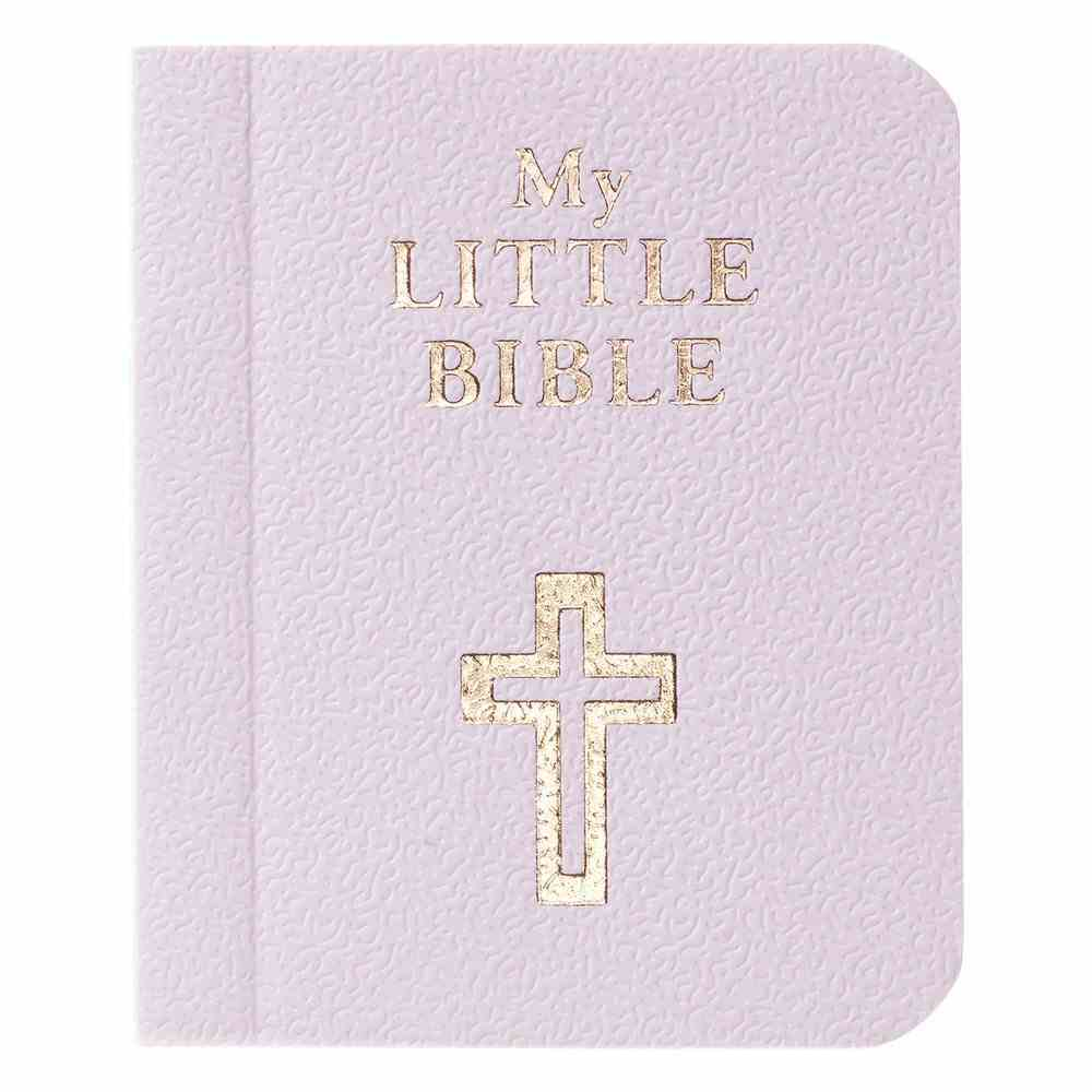 Novelty: My Little Bible Lilac Imitation Leather