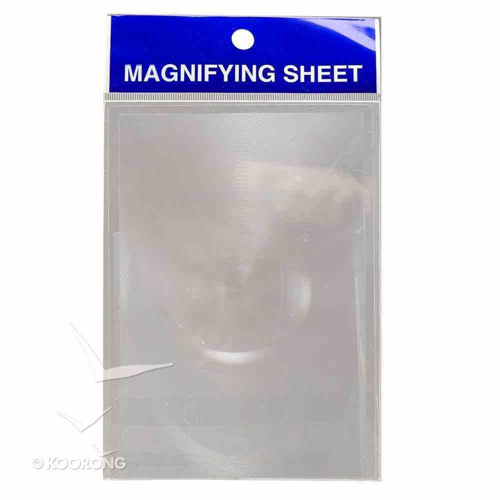 Magnifying Sheet, Pocket Square Plastics