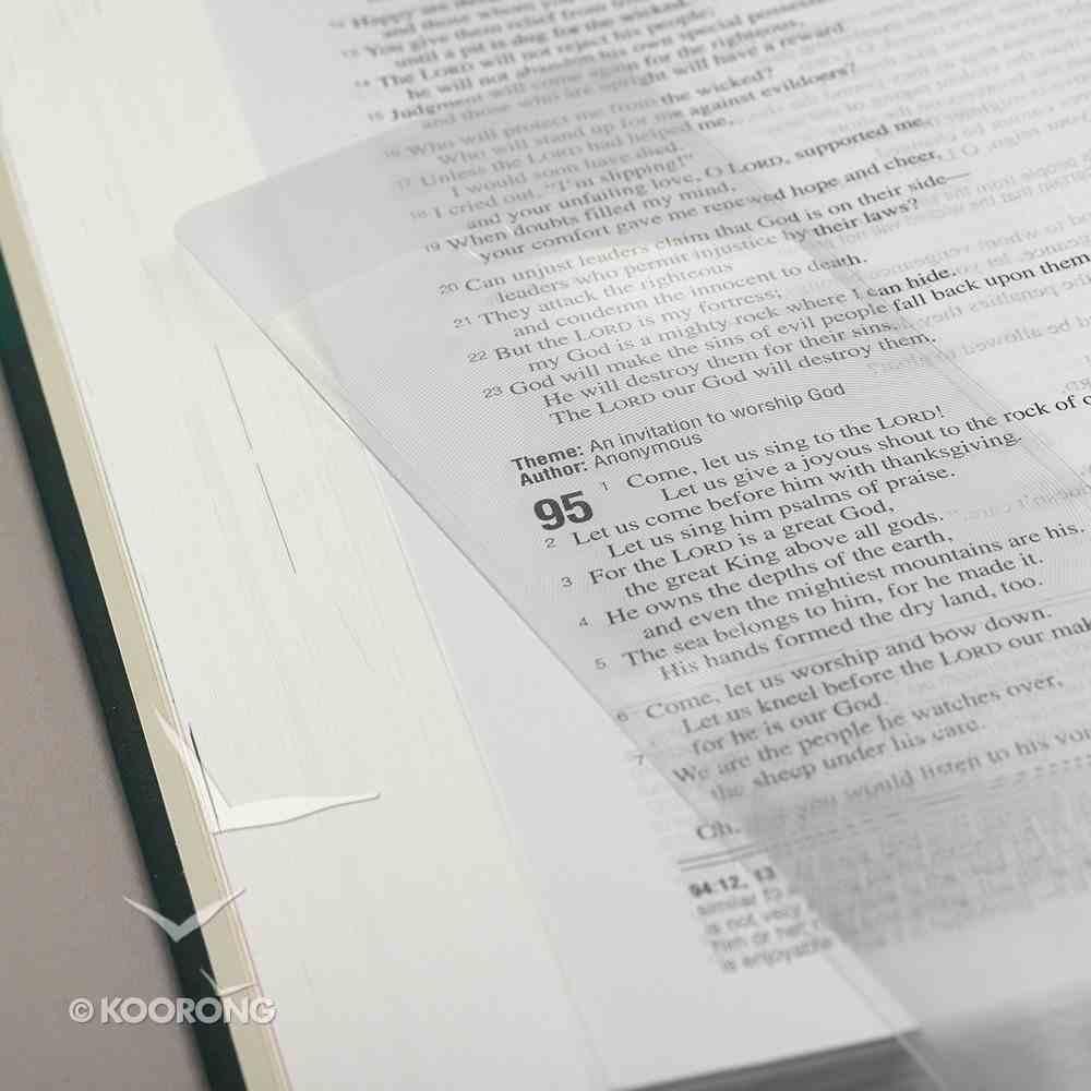 Magnifying Sheet, Pocket Long Plastics