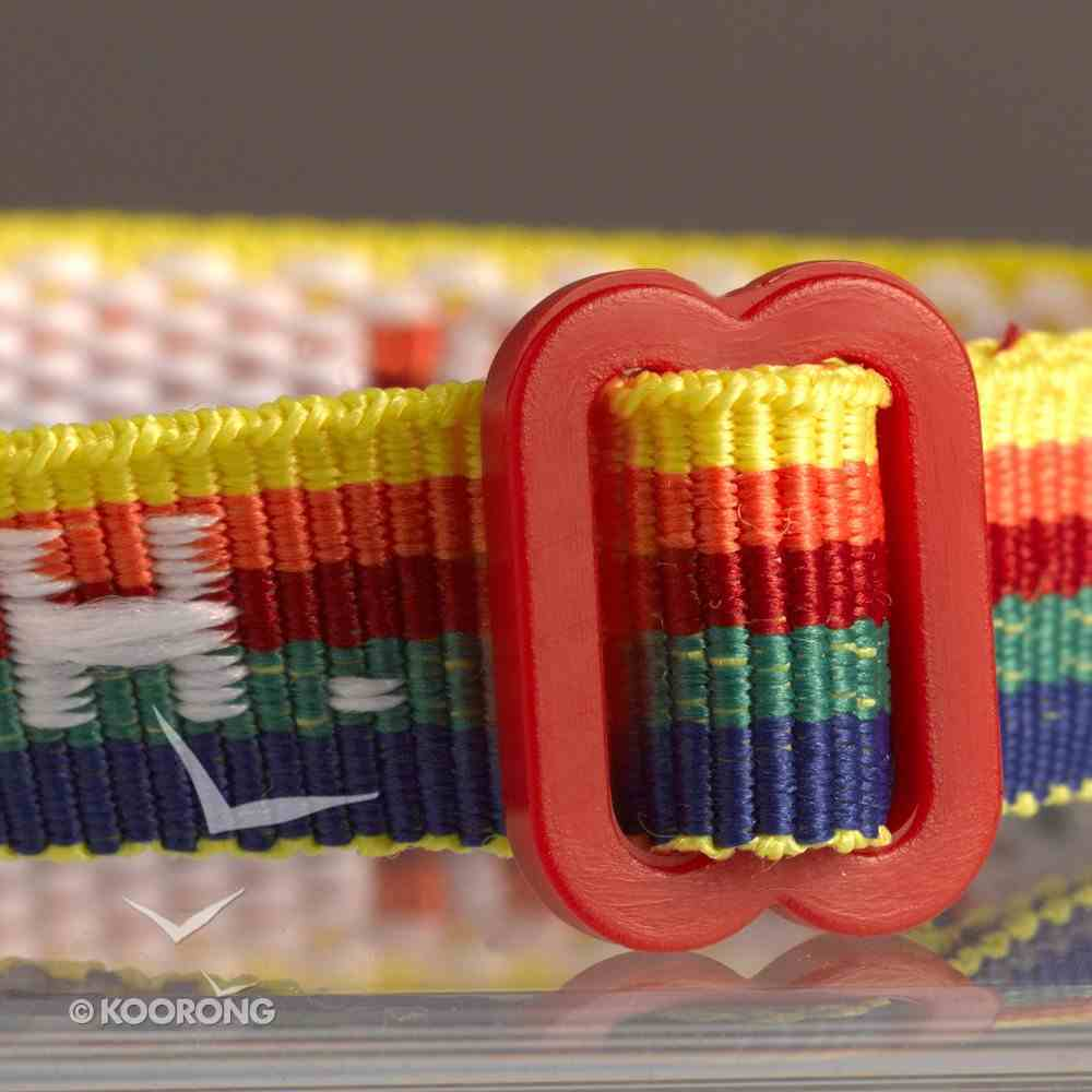 Wristband: Push Multi-Colour Jewellery