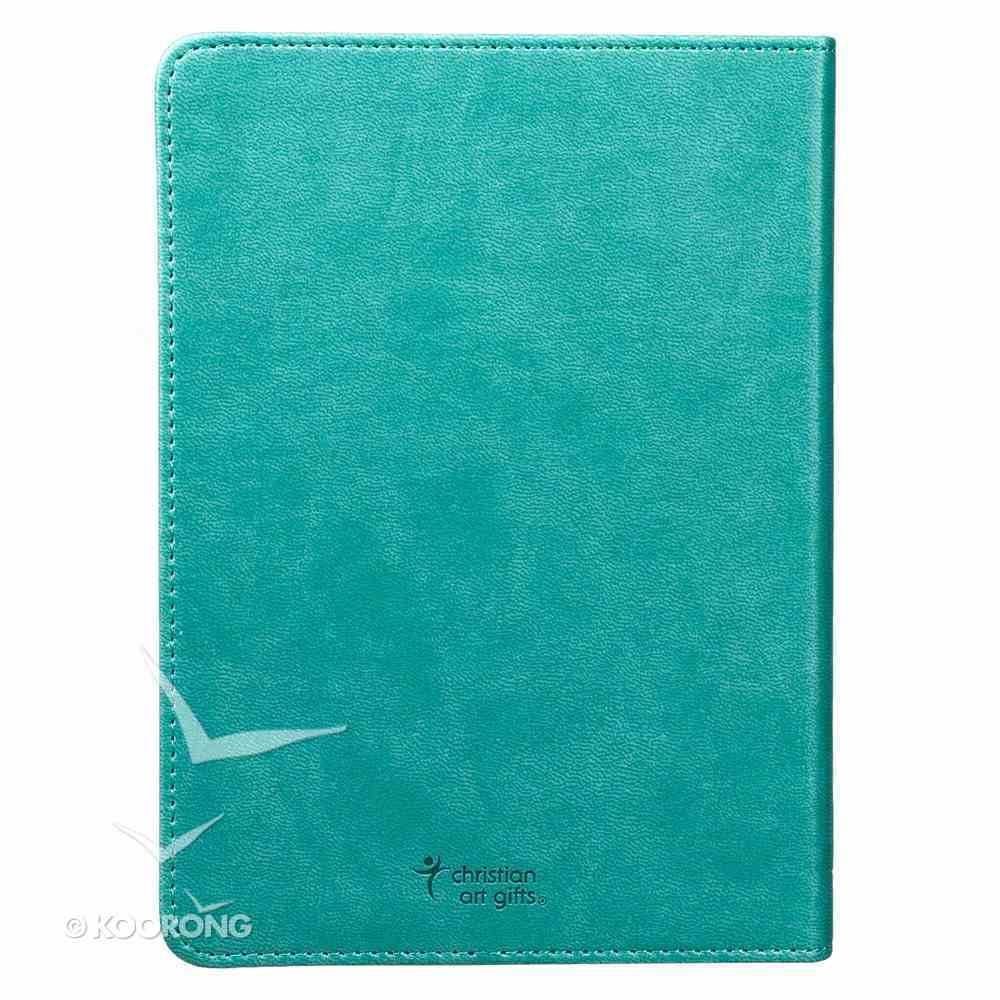 Journal: Serenity Prayer Turquoise, Hany-Sized Imitation Leather