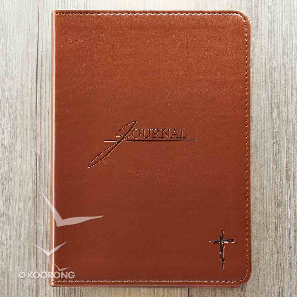 Journal: Cross Brown, Handy-Sized Imitation Leather