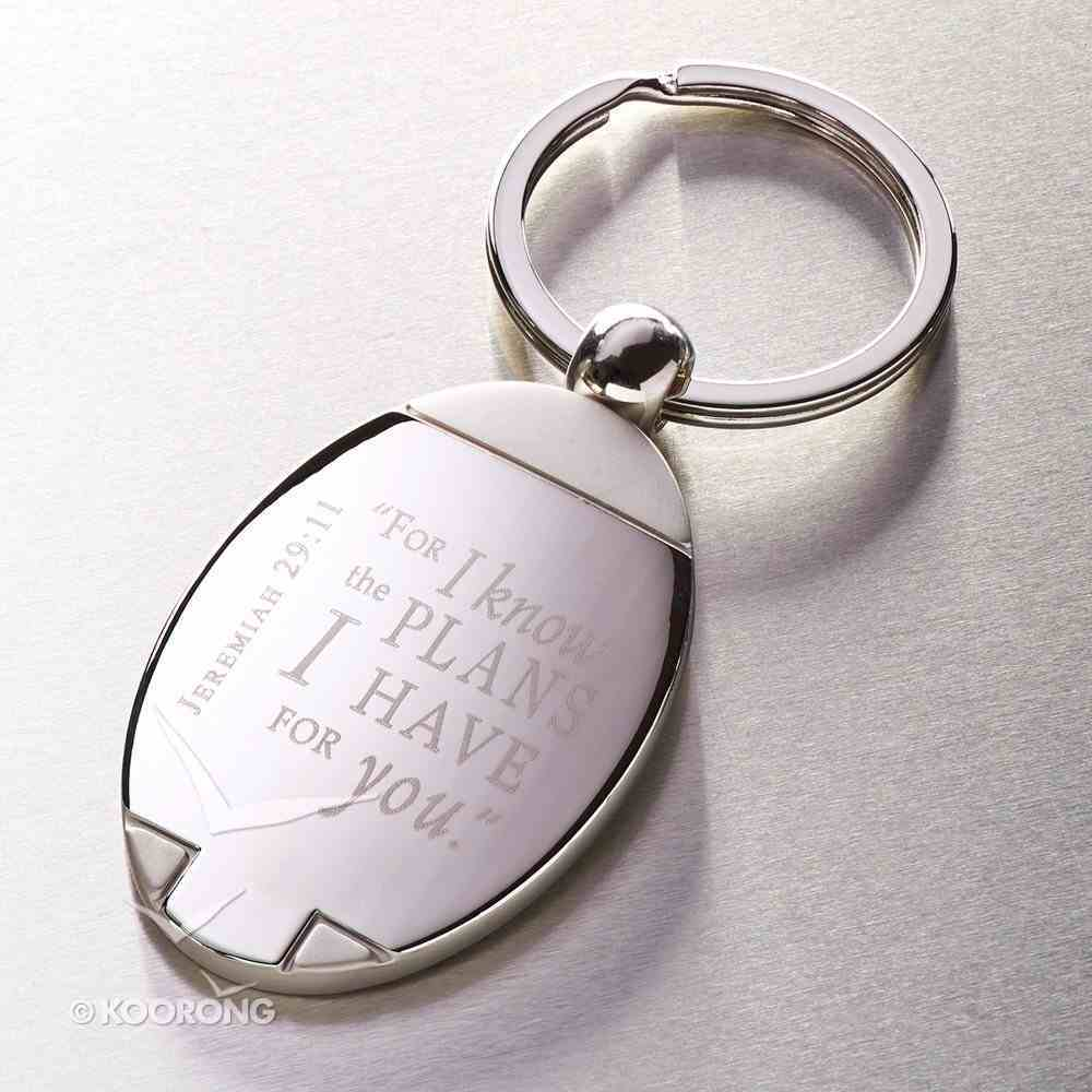 Quality Metal Keyring: Jeremiah 29:11, For I Know the Plans I Have For You Jewellery