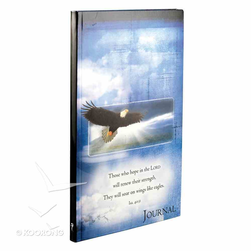 Journal: Flexcover Eagle Those Who Hope in the Lord Isaiah 40:31 Paperback