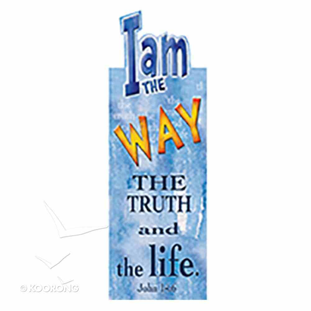 Bookmark Magnetic: I Am the Way, the Truth and the Life Stationery