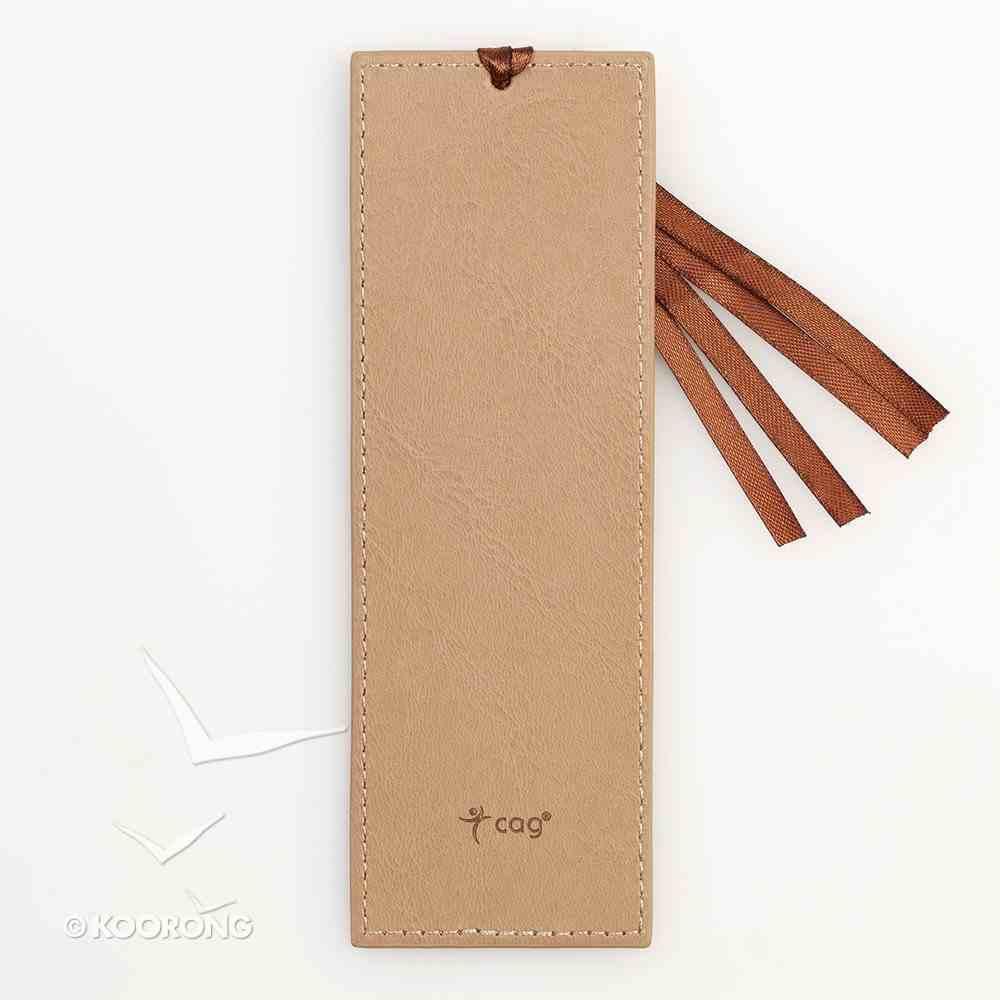 Bookmark: Footprints Luxleather Imitation Leather