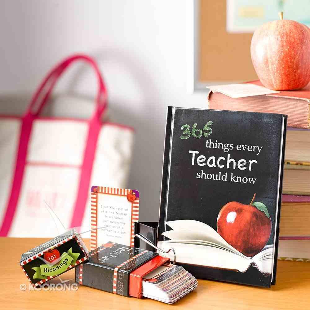 Box of Blessings: 101 Blessings For My Teacher Stationery