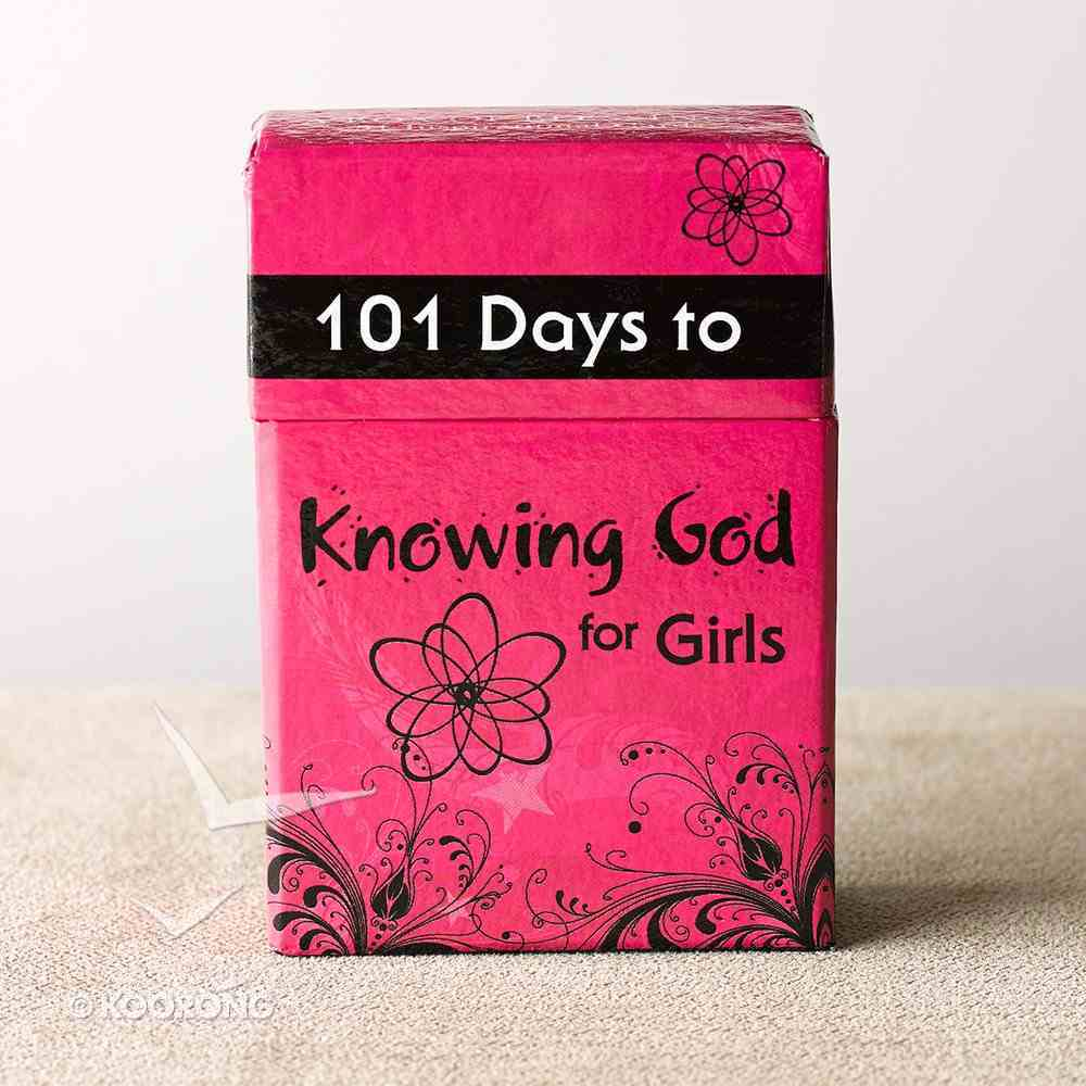 Box of Blessings: 101 Days to Knowing God For Girls Box