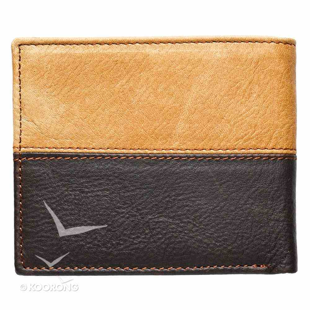 Mens Genuine Leather Wallet Tan/Brown: Cross Soft Goods